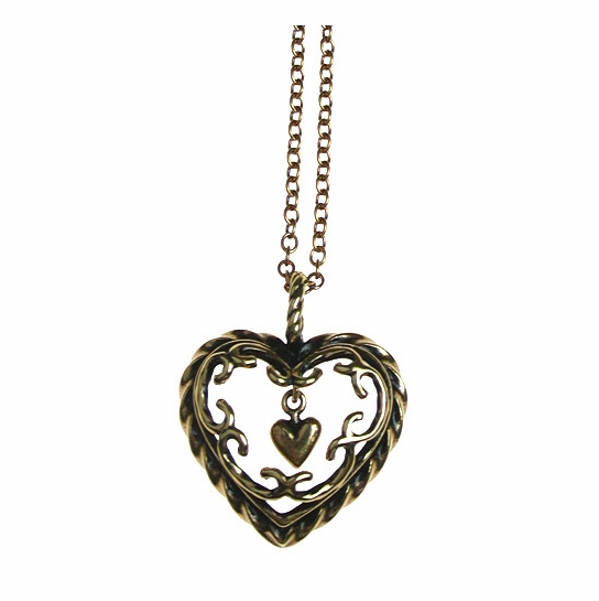 Kalevala Heart of the House Bronze Pendant Necklace
