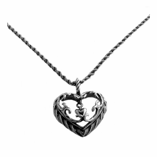 Kalevala Heart of the House Silver Pendant