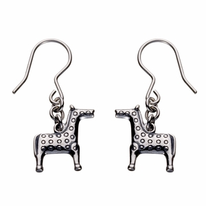 Kalevala Horse Silver Earrings