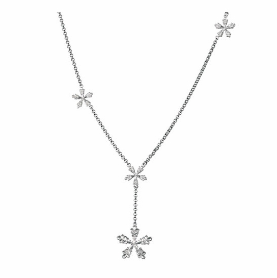 Kalevala Snow Crystal Necklace Silver