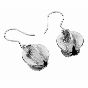 Kalevala Snowflower Silver Earrings