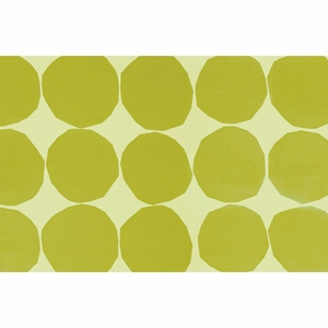 Kivet Green 100% Cotton Placemat  - Click to enlarge