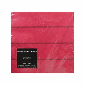 Korvela Napkins - Red - Click to enlarge