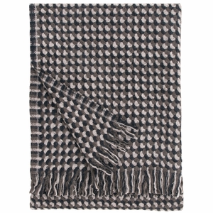 Lapuan Kankurit Alva Brown Wool Blanket