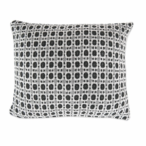 Lapuan Kankurit Corona Black Throw Pillow