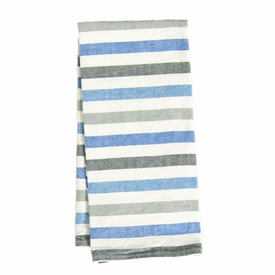Lapuan Kankurit Raita White / Blue / Grey Tea Towel