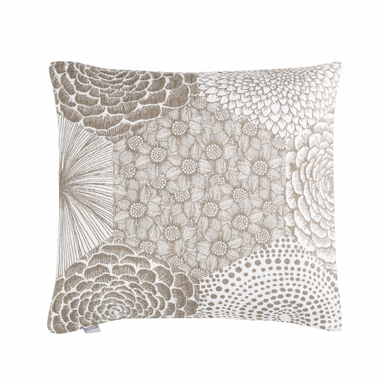 Lapuan Kankurit Ruut Linen / White Throw Pillow