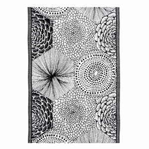 Lapuan Kankurit Ruut White / Black Tea Towel