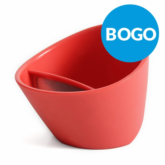 Magisso Coral Red Tipping Teacup