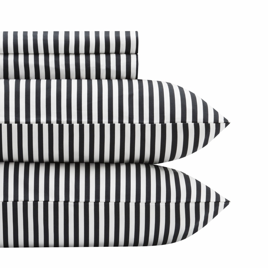 Marimekko Ajo White / Black Full Sheet Set