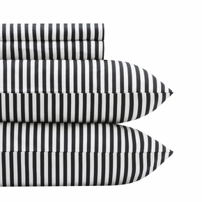 Marimekko Ajo White / Black King Sheet Set