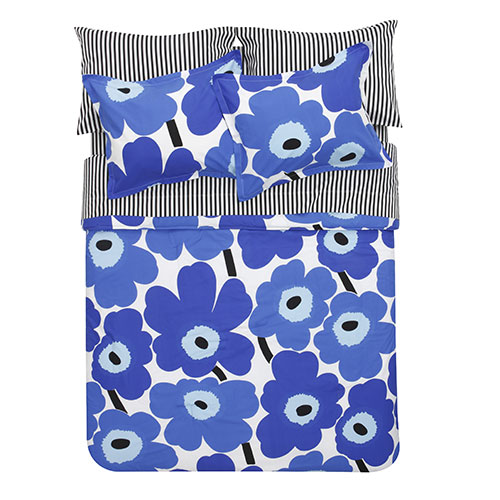 Marimekko Ajo Black/White Sheet Set