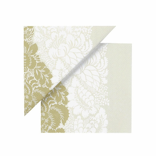 Marimekko Ananas Cream/Gold Cocktail Napkins