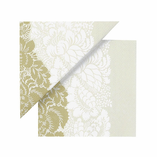 Marimekko Ananas Cream/Gold Lunch Napkins