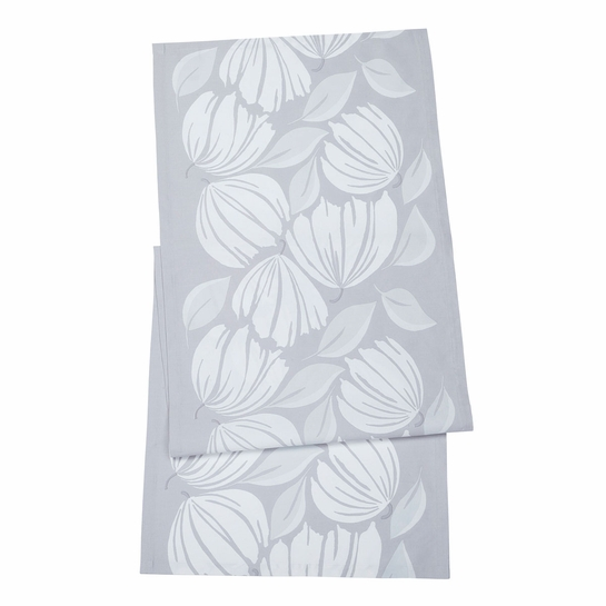 Marimekko Ananaskirsikka Grey/White Table Runner