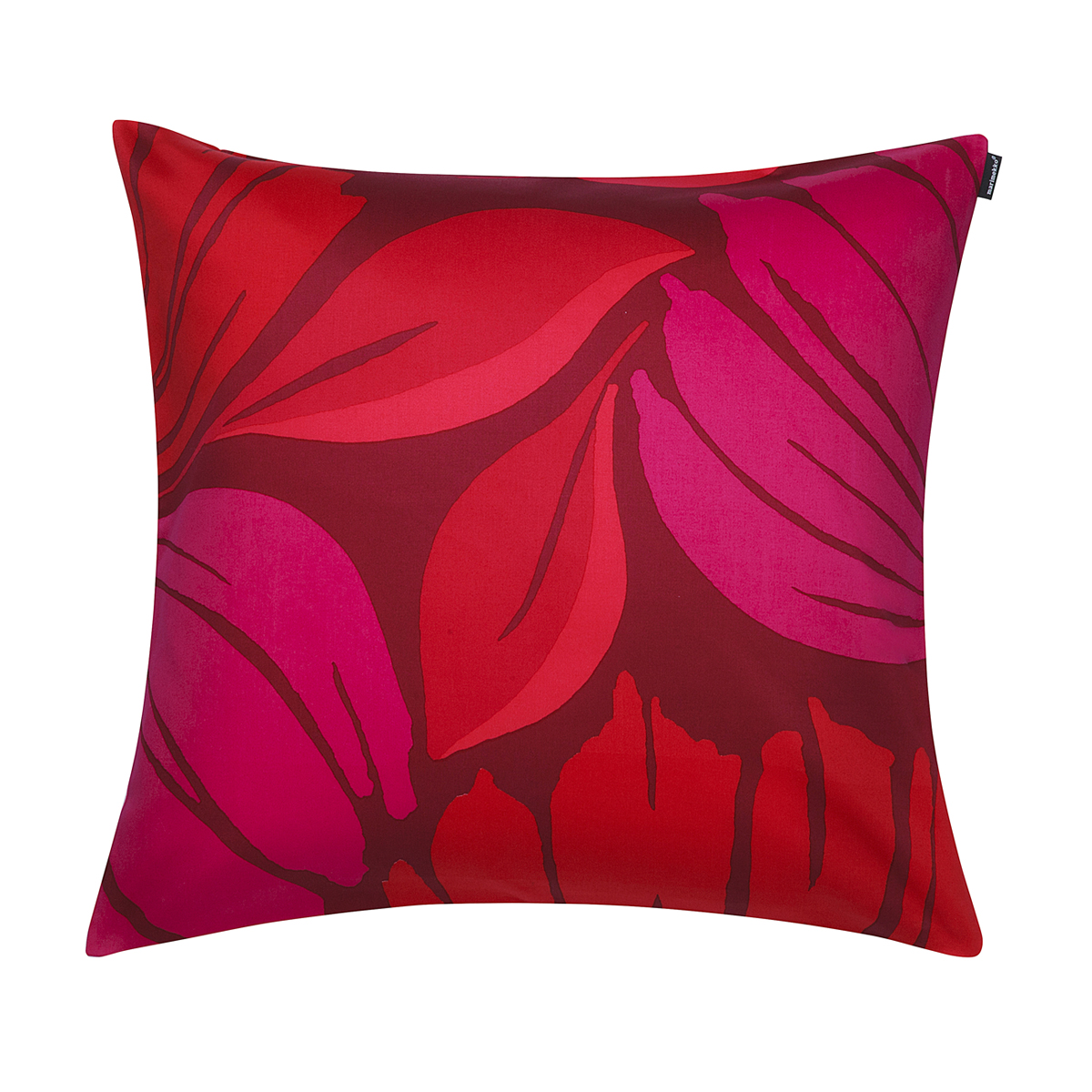 Marimekko Ananaskirsikka Red Throw Pillow
