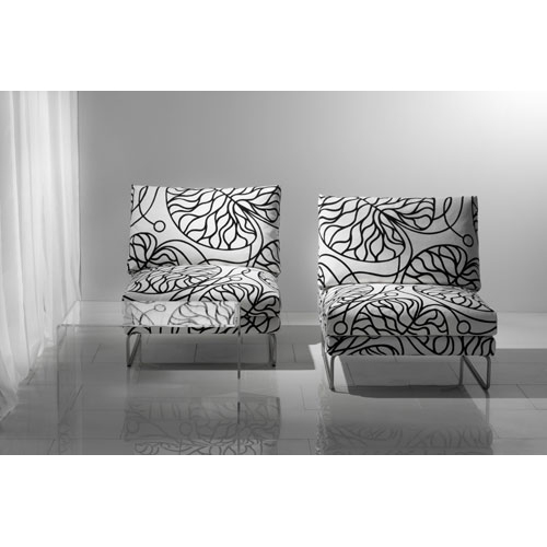 Marimekko Bottna Black / White Upholstery Fabric