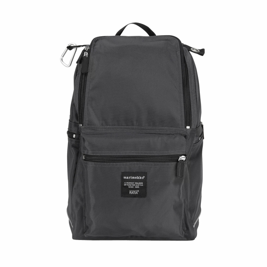 Marimekko Buddy Charcoal Backpack