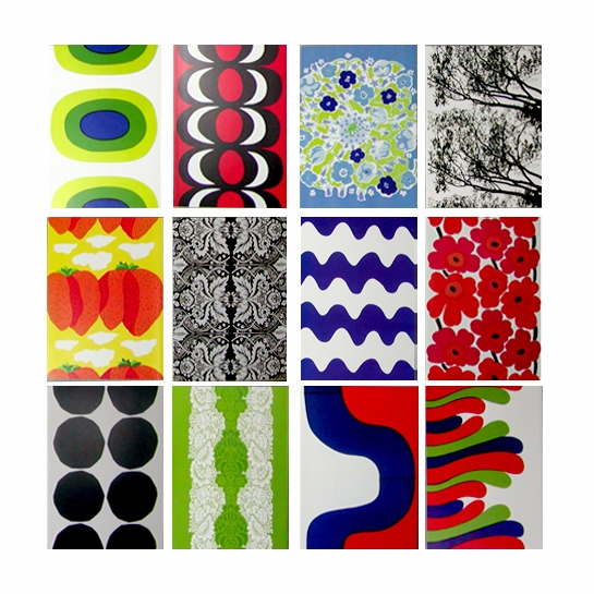 Marimekko Cards with Envelopes