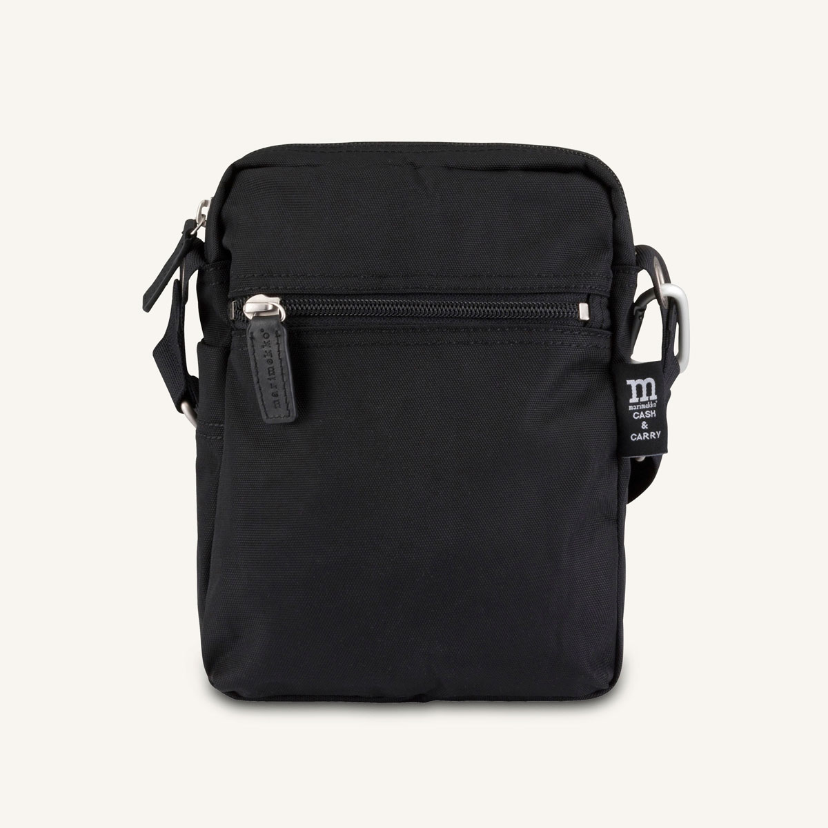 Marimekko Cash Carry Black Bag
