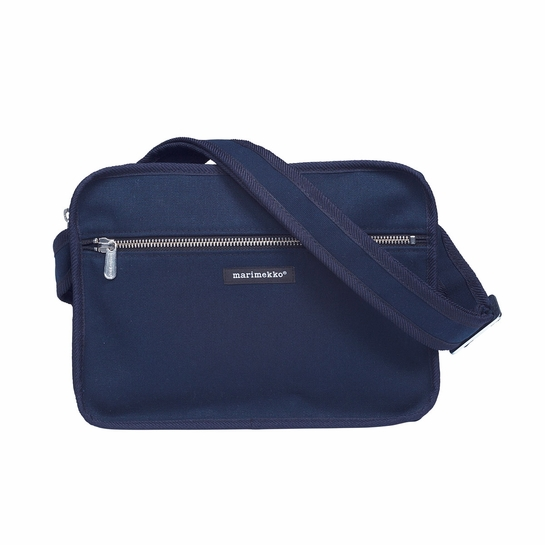 Marimekko City Navy Shoulder Bag