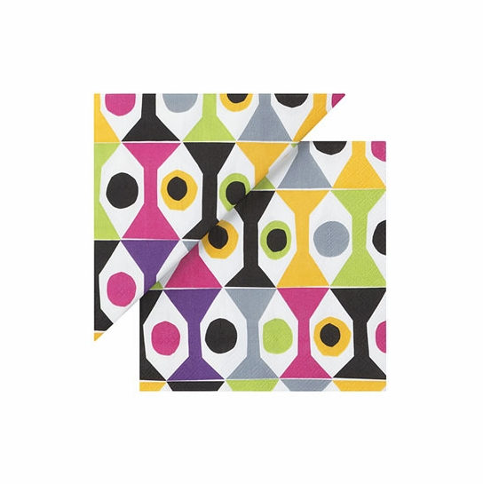 Marimekko Cocktail Multicolor Cocktail Napkins