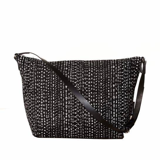 Marimekko Hamppu Black / White Maria Bag