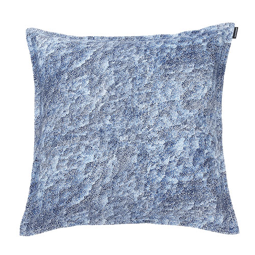 Blue White Throw Pillow : Marimekko Harmaja Blue/White Throw Pillow - Marimekko Throw Pillows & Blankets