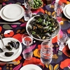 Marimekko Hattarakukka Violet Table Cloth