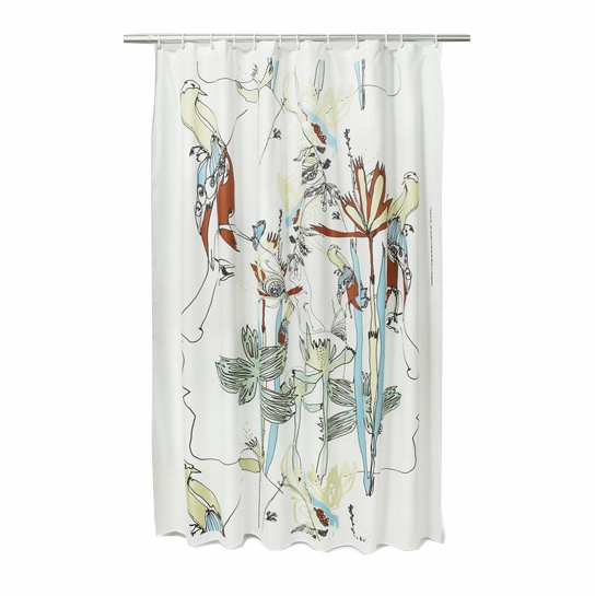 Marimekko Iso Satakieli Long Polyester Shower Curtain