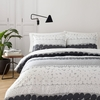 Marimekko Jurmo Grey Full / Queen Duvet Cover Set