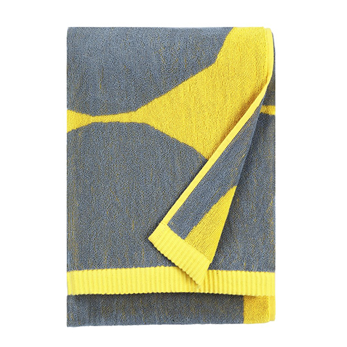 Phenomenal Marimekko Kivet Yellow Grey Bath Towel Download Free Architecture Designs Estepponolmadebymaigaardcom