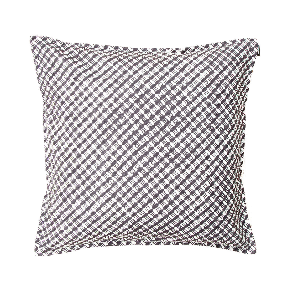 Marimekko Kopeekka Dark Grey Throw Pillow New Arrivals