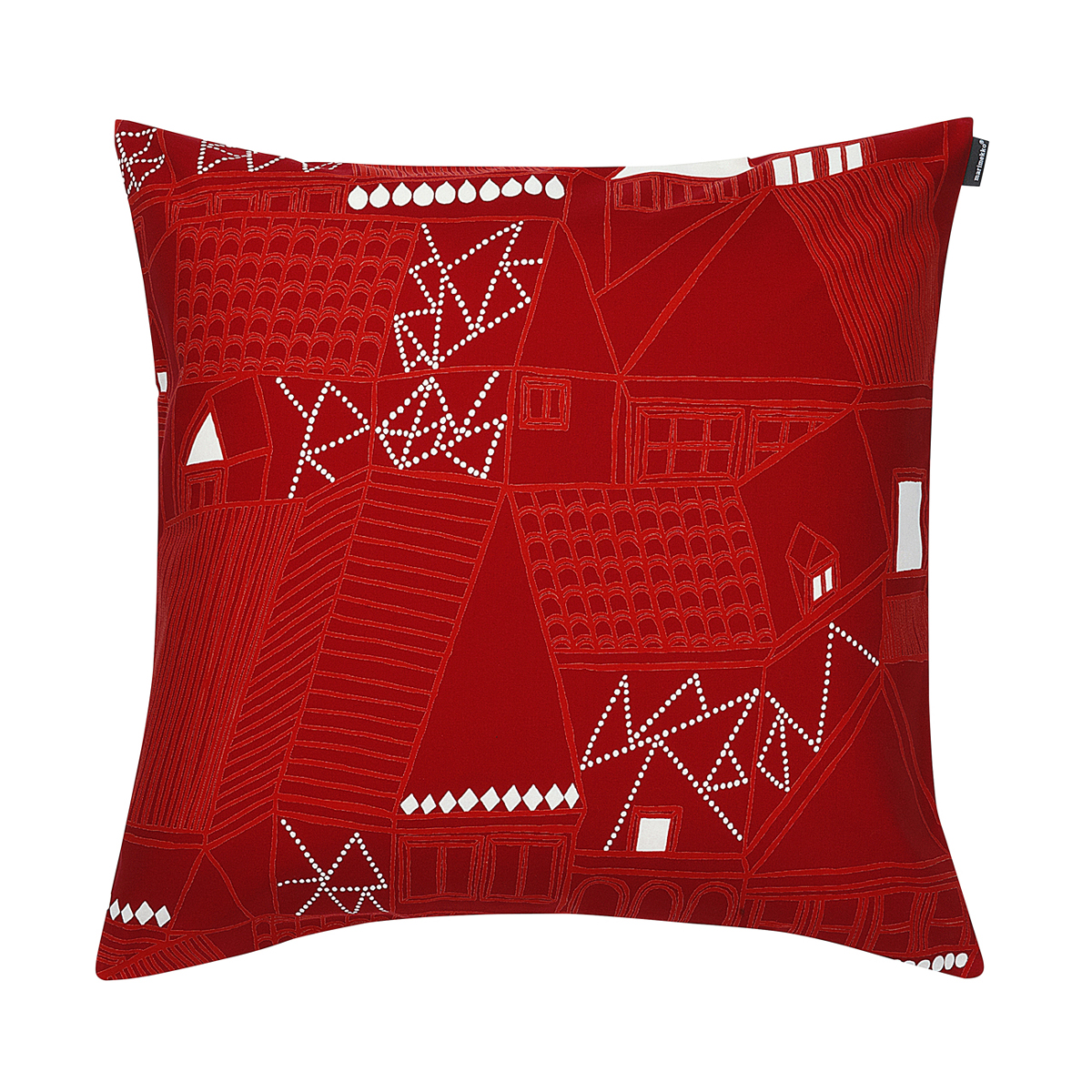 Marimekko Kujilla Red Throw Pillow - Marimekko Bed & Bath Sale