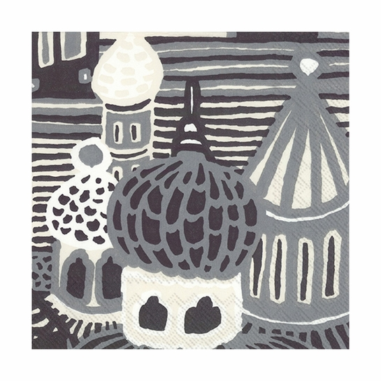 Marimekko Kumiseva Grey Lunch Napkins
