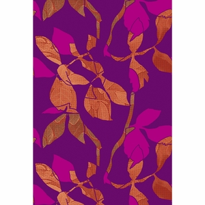 Marimekko Latvassa Korkealla Purple Fabric Repeat - Click to enlarge