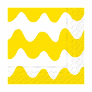 Marimekko Lokki Yellow Lunch Napkins