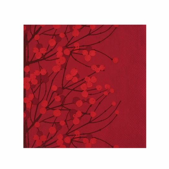Marimekko Lumimarja Red Lunch Napkins