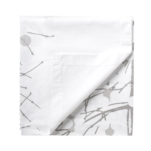 Marimekko Lumimarja Short White / Silver Tablecloth