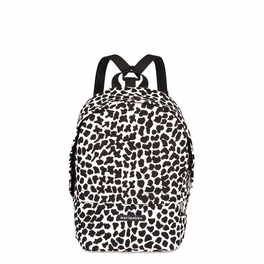 Marimekko Pitka Ikava Cream / Black Mini Eira Backpack