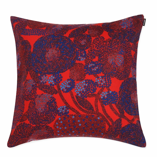 Marimekko Mynsteri Red Large Throw Pillow