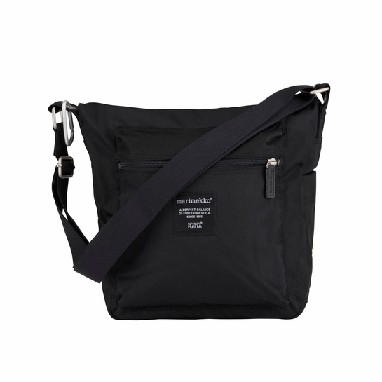 Marimekko Pal Black Shoulder Bag