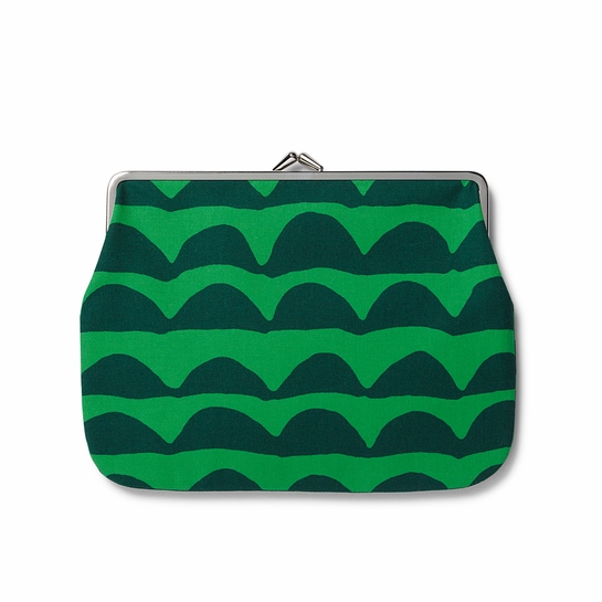 Marimekko Papajo Green Large Coin Purse