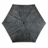 Marimekko Piccolo Black Mini-Manual Umbrella
