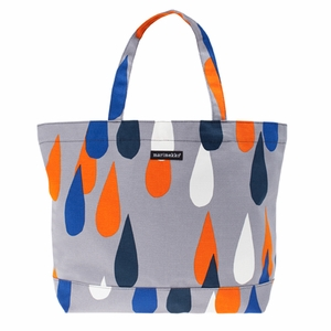 Marimekko Pisaroi Laukku Tote Bag - Click to enlarge