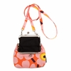 Marimekko Unikko Orange / Pink Roosa Purse