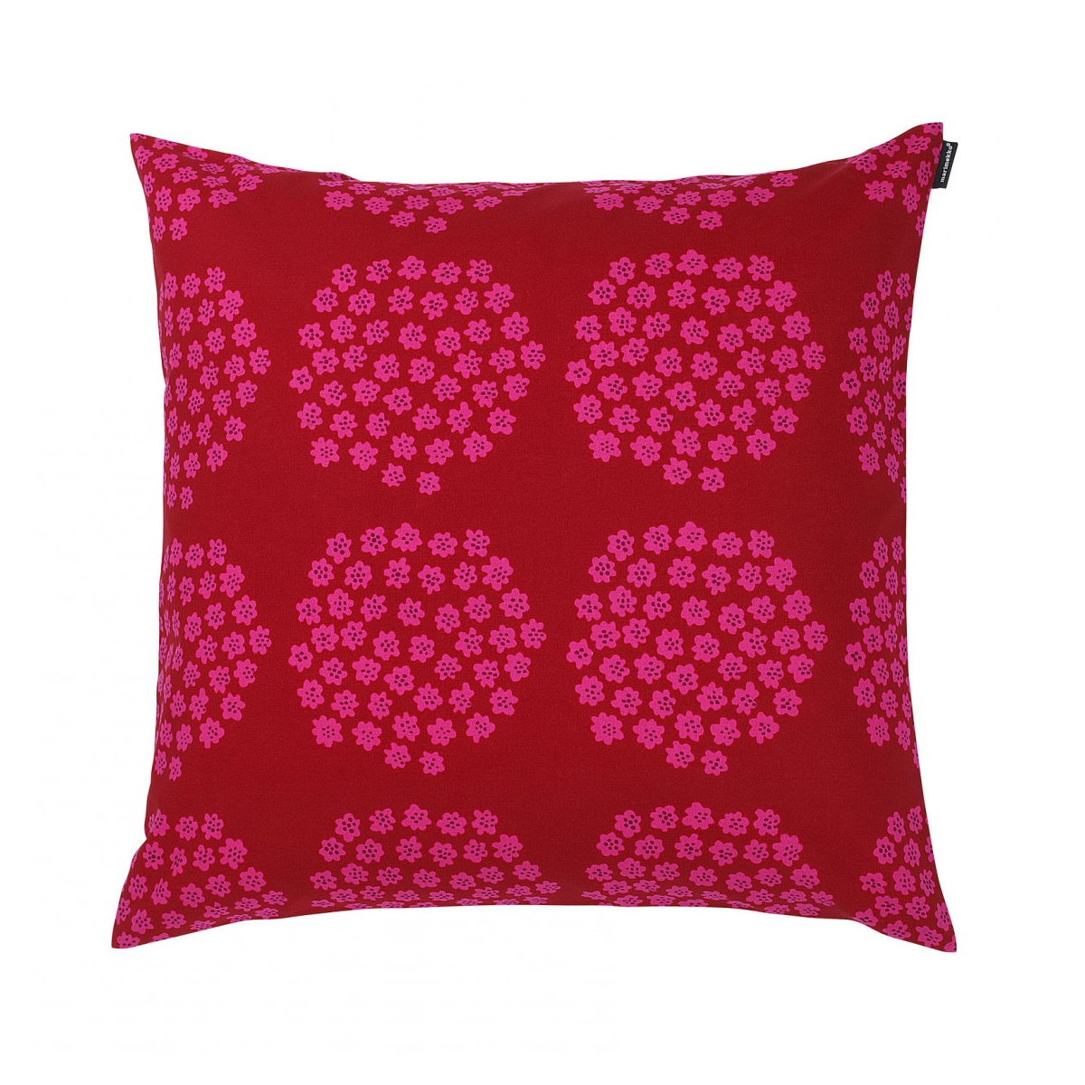 Pink Throw Pillows For Couch : Marimekko Puketti Red/Pink Throw Pillow - Marimekko Throw Pillows & Blankets