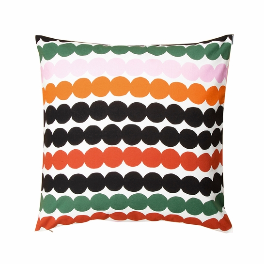 Marimekko Rasymatto Orange Large Throw Pillow