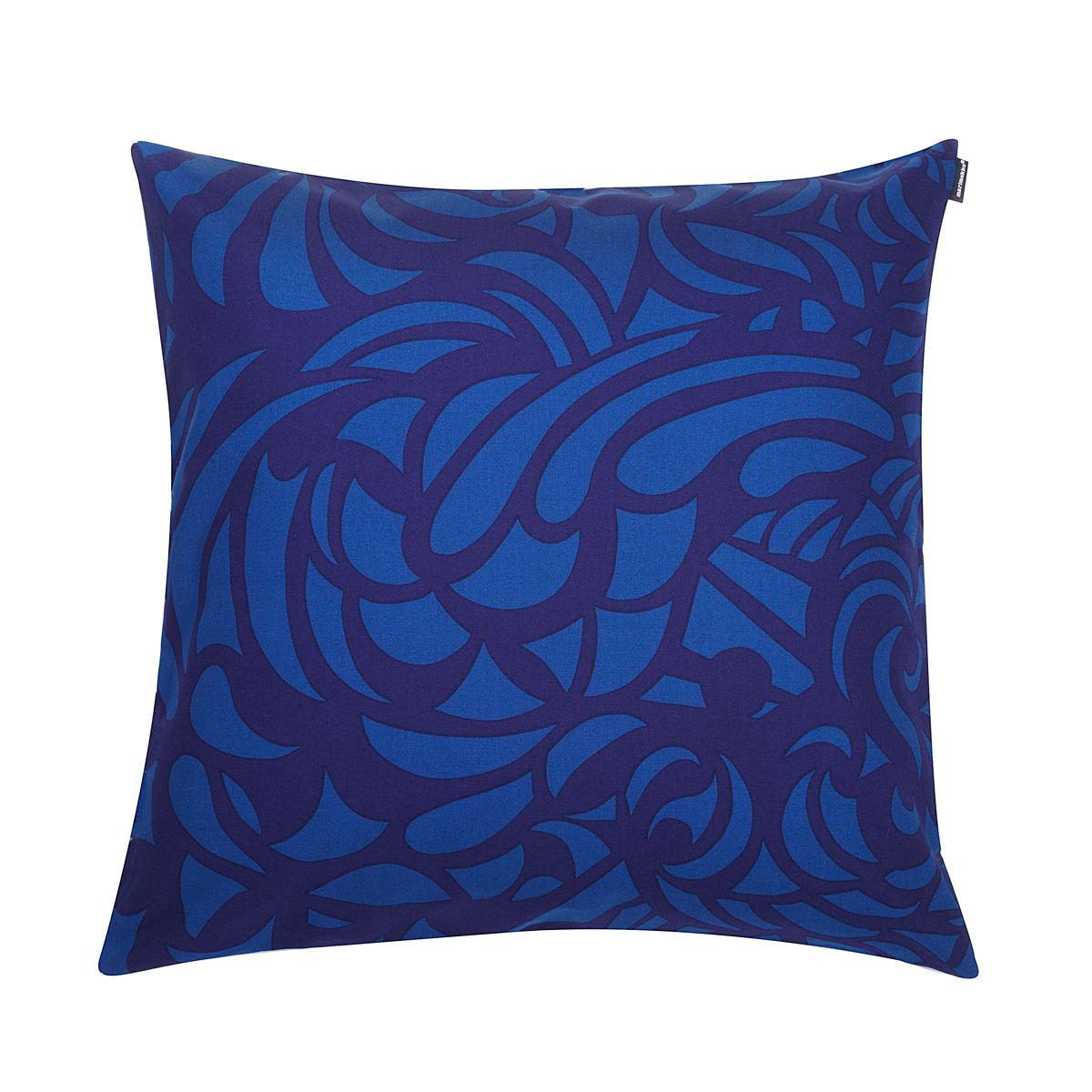 Dark Blue Throw Pillow : Marimekko Raakel Blue / Dark Blue Throw Pillow - Marimekko Bed & Bath Sale