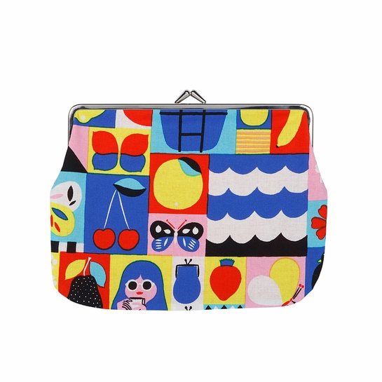 Marimekko Rantsu Multicolor Large Coin Purse